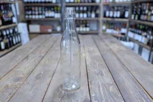 LISCIA - Bottiglia in Vetro per imbottigliamento vino - Capacità: 500 cc