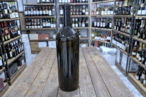 Bordolese - Bottiglia in Vetro per imbottigliamento vino - Capacità: 3 Litri