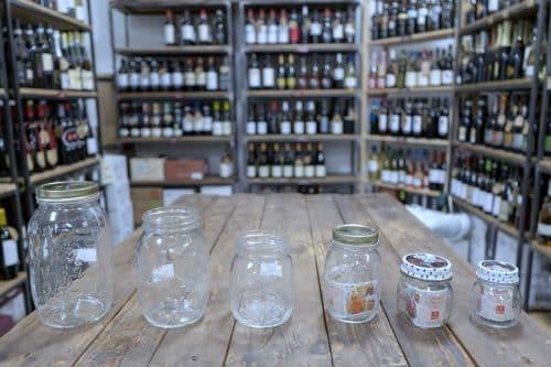 Vasi Bormioli 4 Stagioni - Tappo a Capsula - Adatti per il Miele, la marmellata e la passata di pomodoro - Diverse capacità