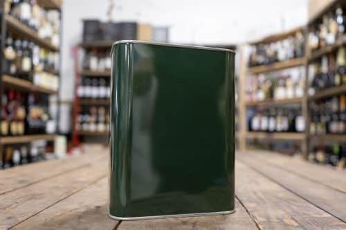 Lattine per Olio d'Oliva Colore Verde - Prodotti per l'Olio d'Oliva