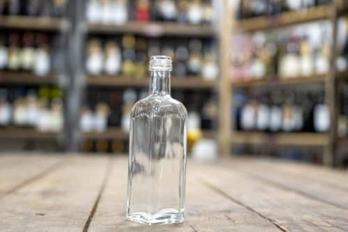 Bottiglia Olio Maraska Bianca - Prodotti per l'Olio d'Oliva